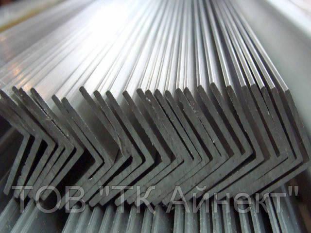 Уголок алюминевый разносторонний 80х40х3 мм 6м АД31Т5 с покрытием и без покрытия