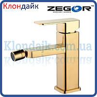 Смеситель для биде ZEGOR LEB2-A-G WKB123 (золото)