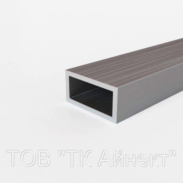 Труба алюминиевая профильная 200х100х4 мм АД31Т5 прямоугольная, анодированная