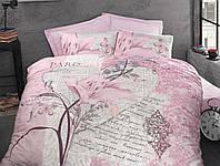 Постельное белье Arte Bella Luoca Patisca розовый Евро