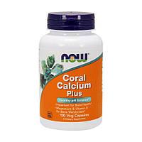 Препарат на основе кораллового кальция NOW Coral Calcium Plus (100 капс)