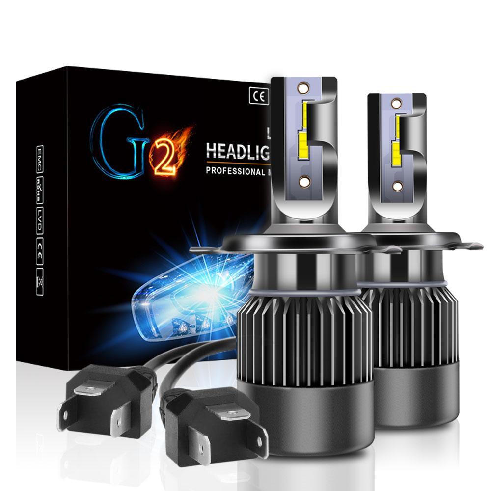 Лампа светодиодная для фар G2 MINI LED  H4 6000 Lum, цвет свечения 6000К, 2 шт/компл.