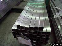 Труба нержавеющая профильная 60х60х2 мм AISI 304 полированная, шлифованная, матовая, пищевая