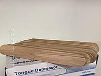 Шпатель деревянный одноразовый, 50 шт