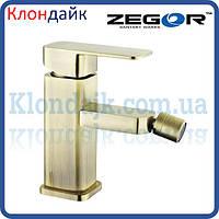 Смеситель для биде ZEGOR LEB2-A-KT WKB123 (бронза)