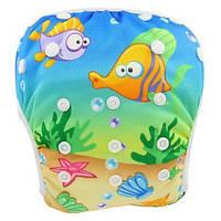 Трусики плавательные детские для бассейна для малышей до 2 лет, фото 1