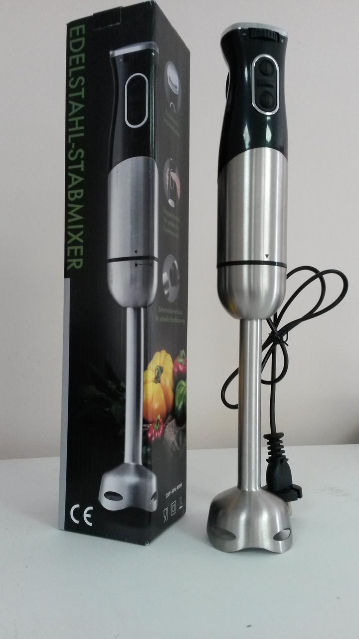 Ручний блендер Edelstahl Stabmixer 800 Вт HB1516