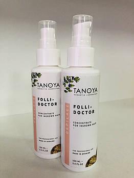 Tanoya Фолли-доктор концентрат-гель против вросших волос, 100 мл