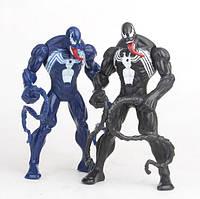 Фигурки Веном и Майлз Моралес из комикса Человек-Паук 2 шт, фото 1