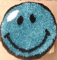 Коврик смайлик синий 0.67х0.67 м.