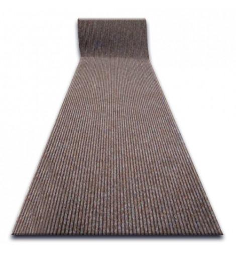 Придверный коврик Лущув Liverpool 100x100 см коричневый квадратный (Q1650)