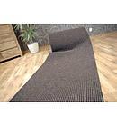 Придверный коврик Лущув Liverpool 100x100 см коричневый квадратный (Q1650), фото 3