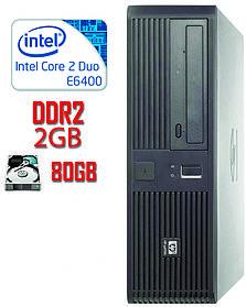 Системный блок HP 2 ядра 2.1GHz /2Gb-DDR2/HDD 80GB