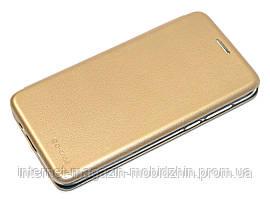 Чехол-книжка Huawei Y5 2019 золотая G-Case Ranger Elite