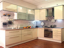 Кухни - фасад алюминий