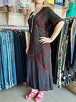 """Платье женское большого размера """"Жатка"""""""
