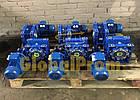 Мотор-редуктор червячный NMRV, редуктор NMRV, редуктор НМРВ, червячный редуктор НМРВ, NMRV, фото 7