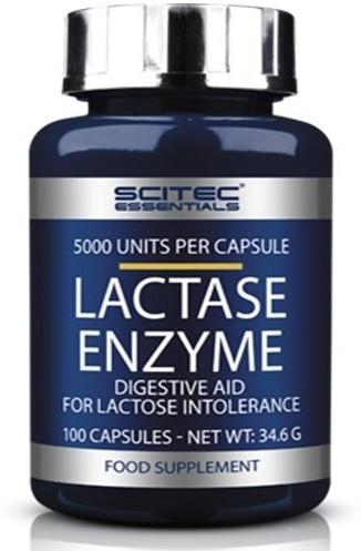 Фермент лактаза Scitec Nutrition - Lactase Enzyme (100 капсул)