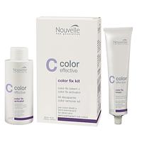 Nouvelle Средство для удаления полу-перманентной краски и прямых красителей Color Fix Kit 60+90