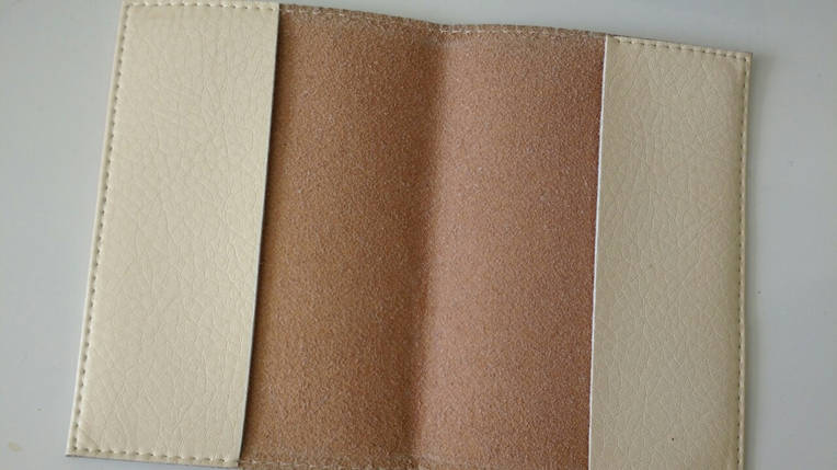 Прикольная Кожаная обложка для паспорта -Мое личное дело-, фото 2