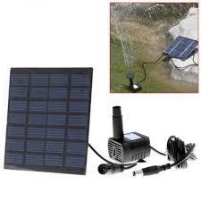 Садовый фонтан RC-602 на выносной солнечной батарее с насадками