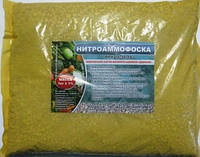Удобрение Нитроаммофоска (Азофоска) 16.16.16, фасовка 1кг.