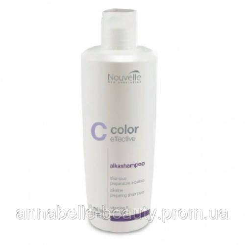 Nouvelle Color Effective Alkashampoo - Шампунь глубокой очистки с щелочным pH9 500мл