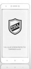 Закаленное стекло Tiger FULL GLUE с белой рамкой для  Redmi Note 4X
