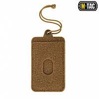 Панель M-Tac Для Нашивок Подвесная С Карманом Для ID-карты Coyote, фото 1