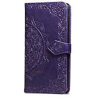 Чехол-книжка Art Case с визитницей для Xiaomi Redmi Go Violet