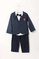 Костюм (пиджак, рубашка, штаны) MTP 5 (VY-00421_Blue-White)