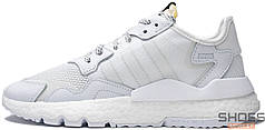 Мужские кроссовки Adidas Nite Jogger White BD7676, Адидас Найт Джогер