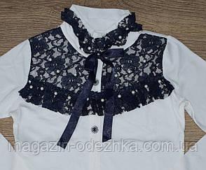 Школьный гольф-блузка для девочки   6-13 лет, фото 2