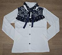 Школьный гольф-блузка для девочки  оптом 6-13 лет