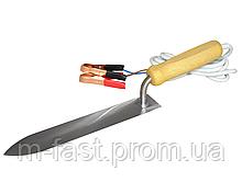 Нож пасечный электрический нержавейка 230 мм 12v