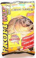 Прикормка для рыбы PROFI MIX, Methot (Метод), 1кг