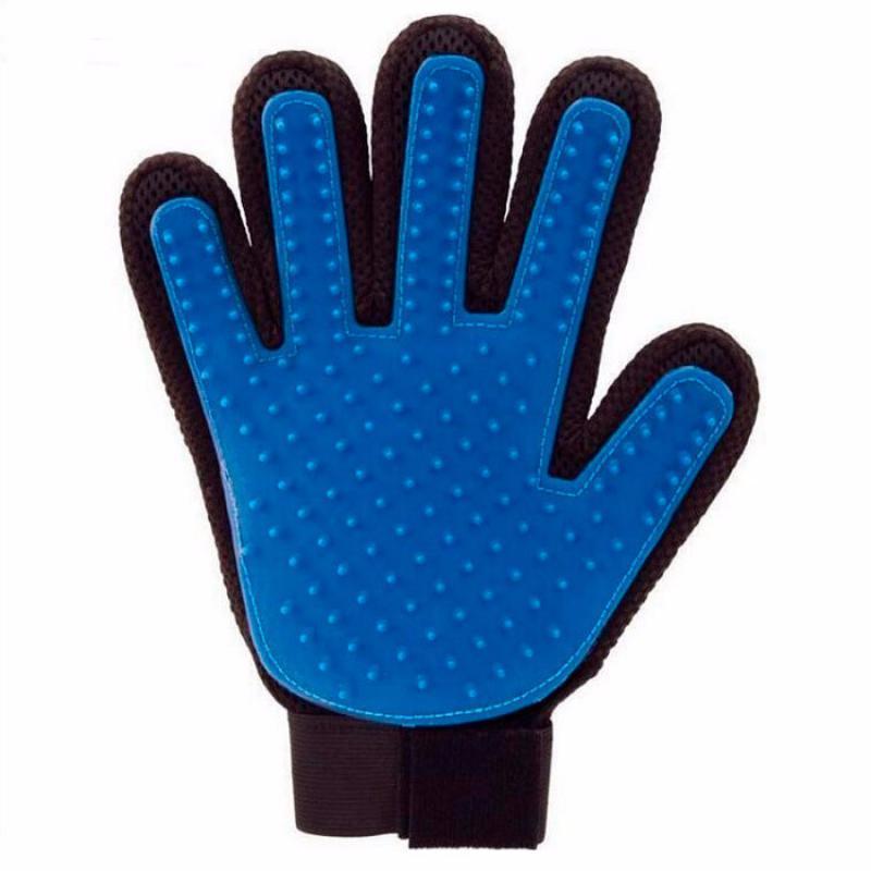 Перчатка TRUE TOUCH для вычесывания шерсти для кошек и собак