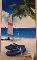 Полотенце пляжное 70х140 микрофибра