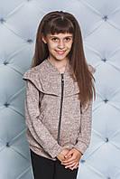 Кофта на замочку на дівчинку  ,3 кольори .Р-ри 122-152