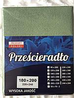 Простынь на резинке махровая 200*220
