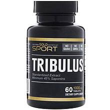 "Трибулус California GOLD Nutrition, SPORT ""Tribulus"" 1000 мг (60 таблеток)"