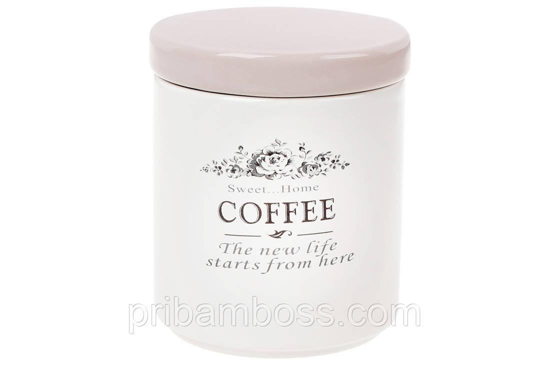 Банка керамическая для хранения Кофе 750мл, Sweet Home