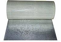 Вспінений поліетилен IZOLON PRO 3008 8 мм фольгований самоклейкий 1м сірий