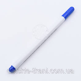 Маркер водорастворимый для ткани, исчезающий, цвет синий