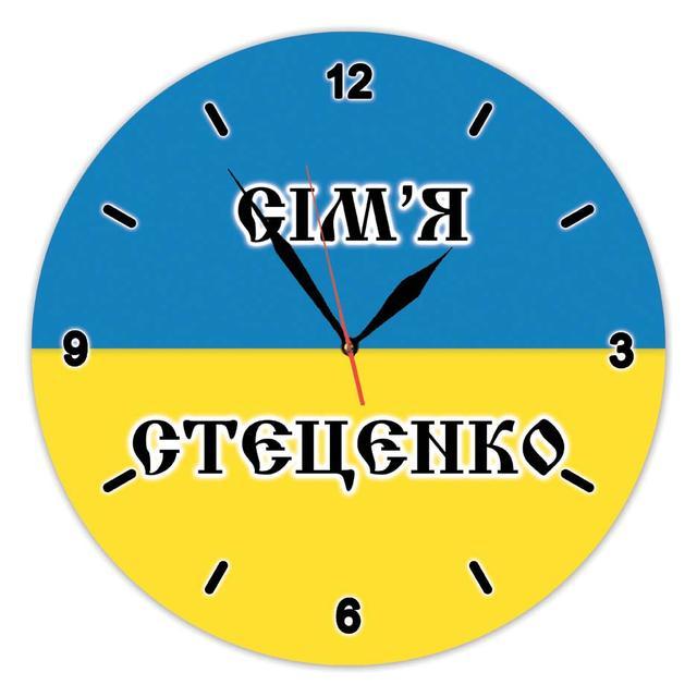 фото настенных часов с надписями