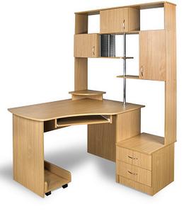 Компьютерный угловой стол ЭКС-5 Минна
