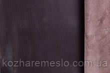 Кожа  Крэзи Хорс(Crazy Horse) коричневая тёмная 1,6-1,8 мм