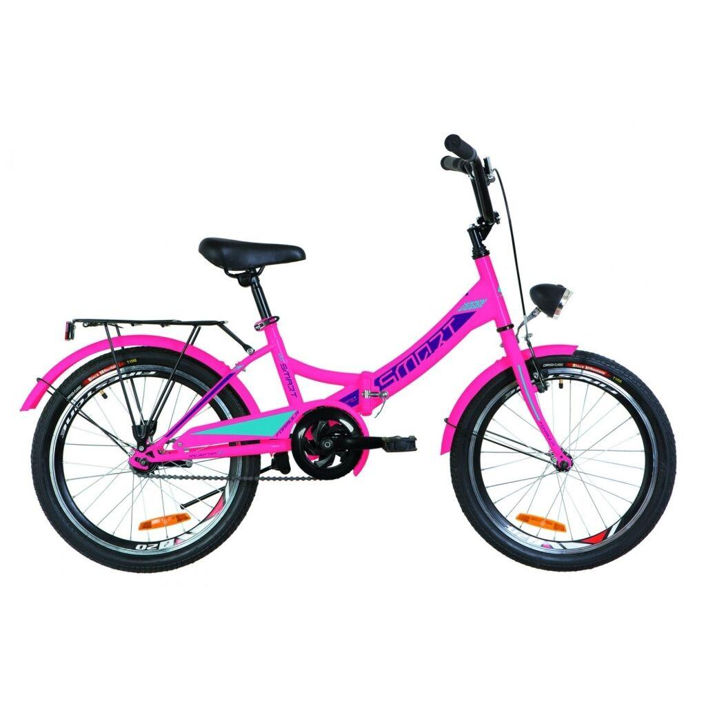 """Велосипед Formula 20"""" SMART с фонарём 2019 (розовый) (OPS-FR-20-041)"""