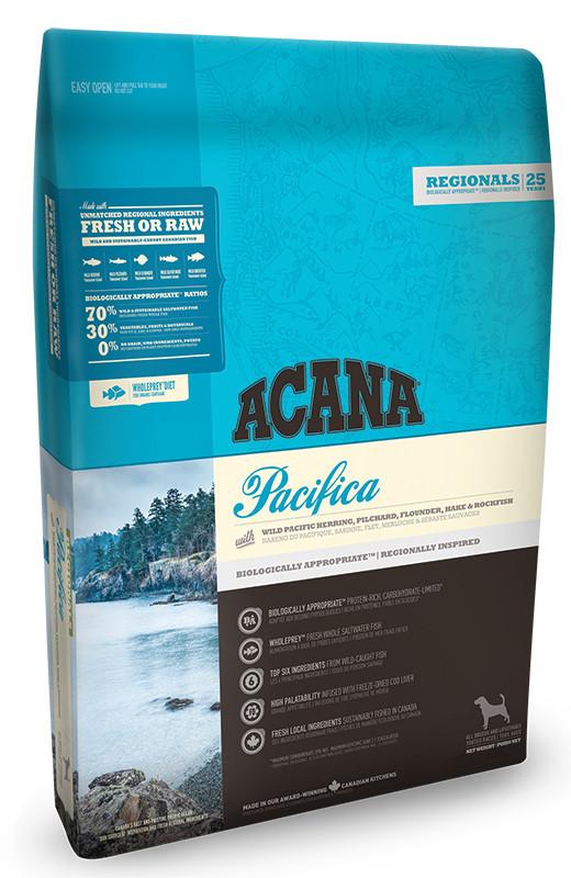 Сухой корм Acana PACIFICA DOG 340 г - беззерновой корм для собак (рыба)