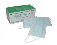 Маска медицинская трехслойная Face Mask